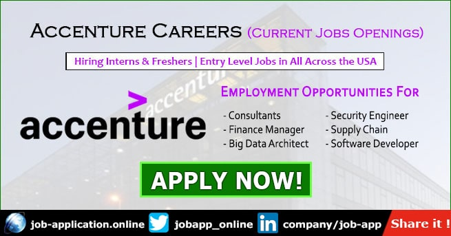 Accenture Careers In Chicago Austin Across The Usa