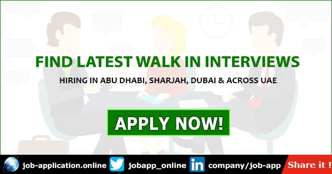 Walk in Interview