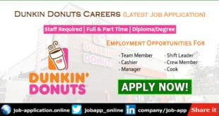 Dunkin Donuts Careers
